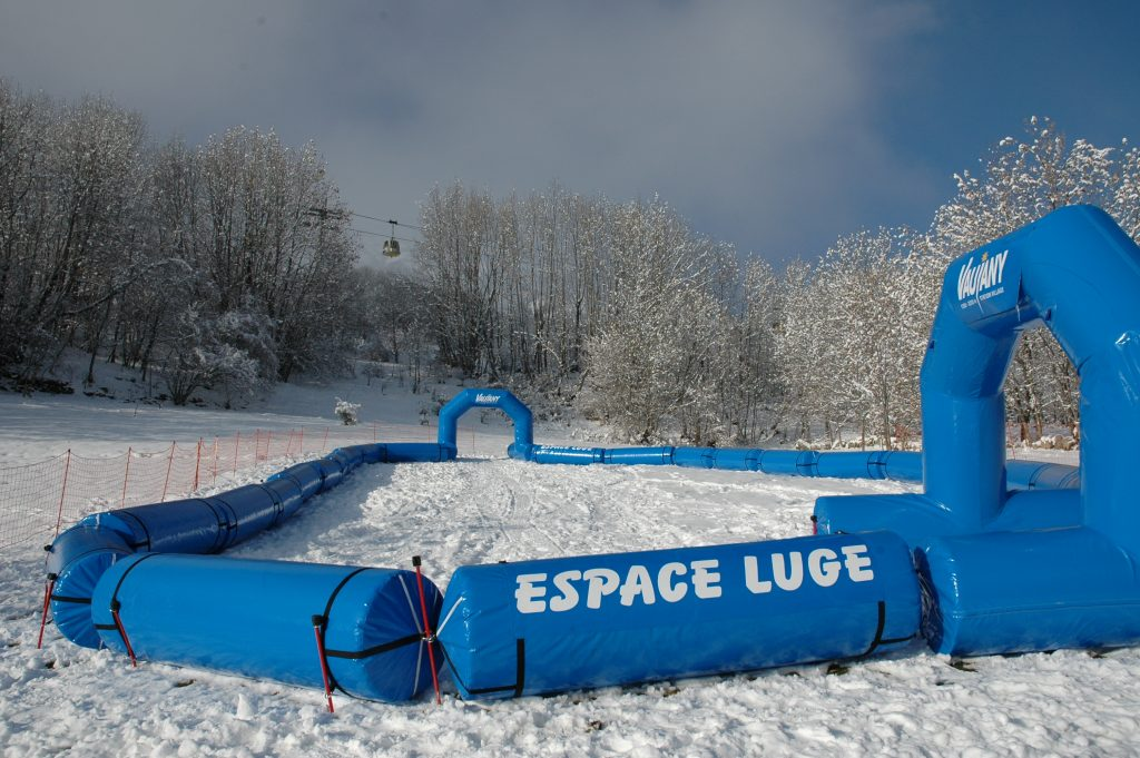 Activities in Vaujany: the Espace Luge